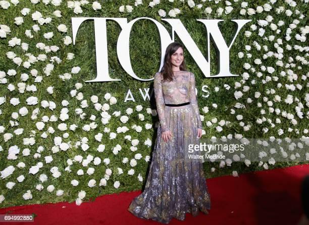 Sara Bareilles attends the 71st Annual Tony Awards at Radio City Music Hall on June 11 2017 in New York City