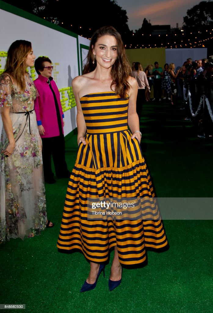 Sara Bareilles attends the premiere of Fox Searchlight Picture 'Battle Of The Sexes' at Regency Village Theatre on September 16, 2017 in Westwood, California.
