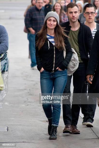 Sara Bareilles is seen on January 30 2014 in Los Angeles California