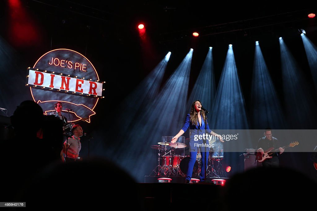 Sara Bareilles performs at her album release concert on November 5, 2015 in New York City.