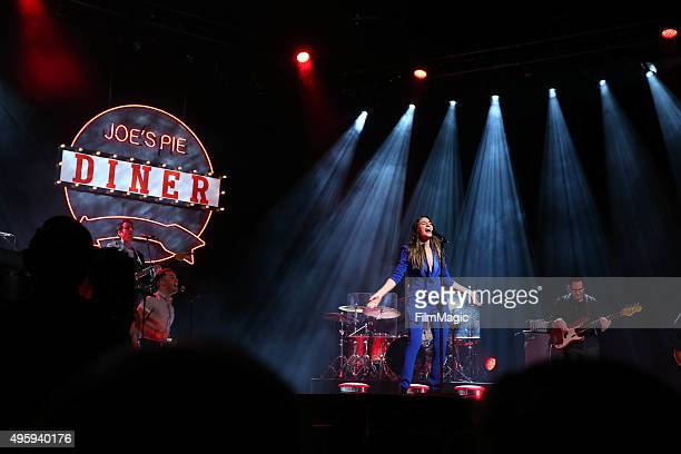 Sara Bareilles performs at her album release concert on November 5 2015 in New York City