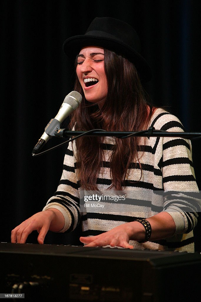 Sara Bareilles performs at Mix 106.1 Performance Theater April 30, 2013 in Bala Cynwyd, Pennsylvania.