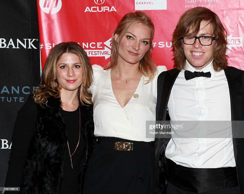Sara Bernstein, Director Lucy Walker and American snowboarder Kevin Pearce attend 'The Crash Reel' Premiere at Rose Wagner Performing Arts Center on January 18, 2013 in Salt Lake City, Utah.