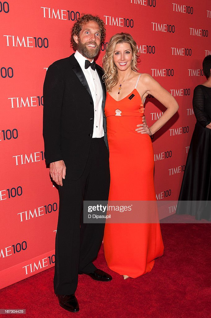 Sara Blakely (R) and Jesse Jaymes attend the 2013 Time 100 Gala at Frederick P. Rose Hall, Jazz at Lincoln Center on April 23, 2013 in New York City.