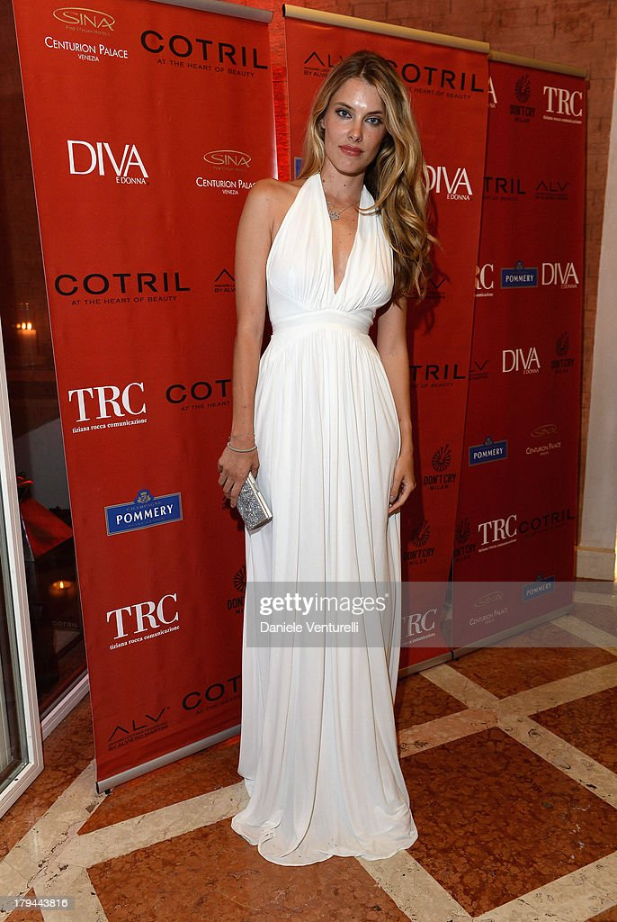 Sara Brajovic attends 'Diva e Donna' Party during the 70th Venice International Film Festival at Centurion Palace Hotel on September 3, 2013 in Venice, Italy.