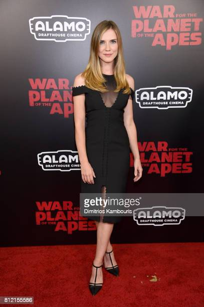 Sara Canning attends the 'War For The Planet Of The Apes' New York Premiere at SVA Theater on July 10 2017 in New York City
