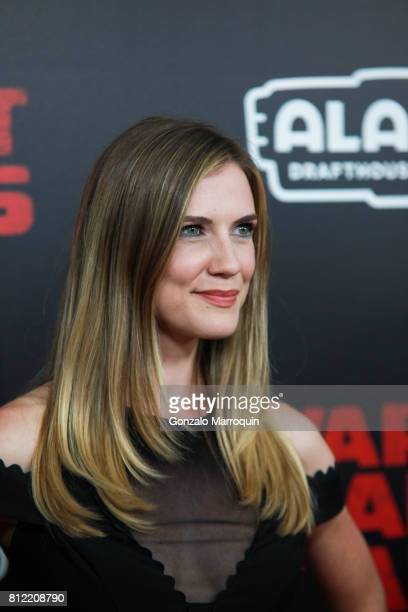 Sara Canning attends the 'War For The Planet Of The Apes' New York Premiere at SVA Theatre on July 10 2017 in New York City