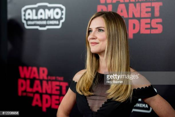 Sara Canning attends 'War For The Planet Of The Apes' New York Premiere at SVA Theater on July 10 2017 in New York City