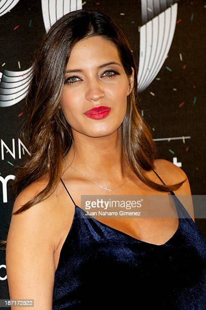 Sara Carbonero attends Women'secret New Collection presentation 20th anniversary at Botanic Garden on November 6 2013 in Madrid Spain
