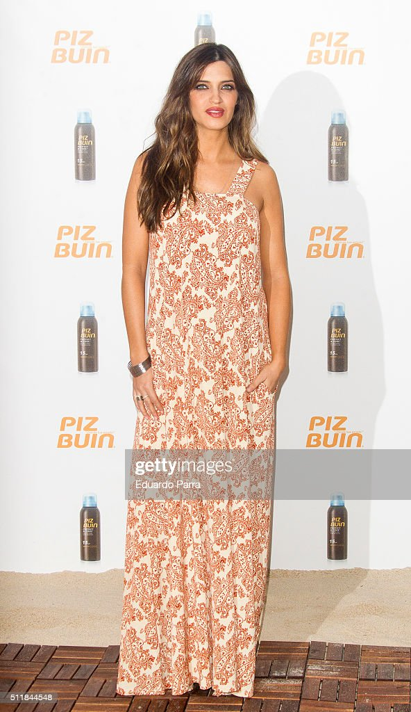 Sara Carbonero Is New Ambassador For 'Piz Buin'