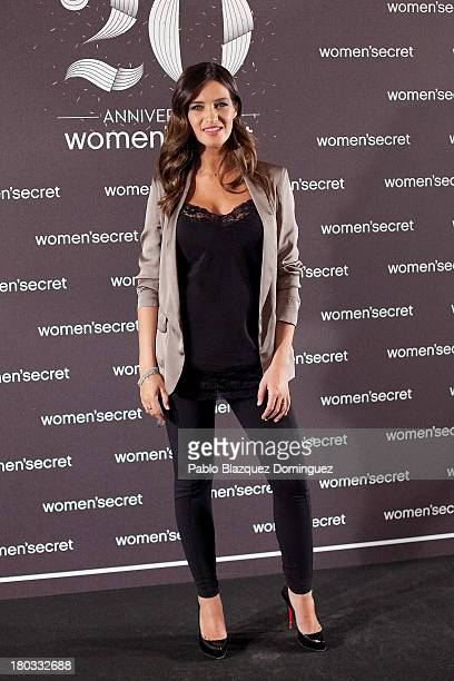 Sara Carbonero is presented as the new image of Women'Secret at Villamagna Hotel on September 11 2013 in Madrid Spain