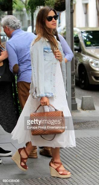 Sara Carbonero is seen on May 30 2017 in Madrid Spain