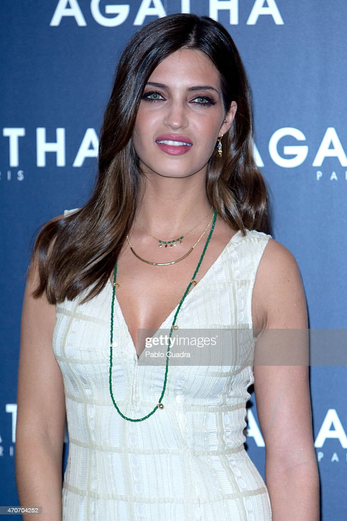 Sara Carbonero Presents 'Agatha' New Collection in Madrid
