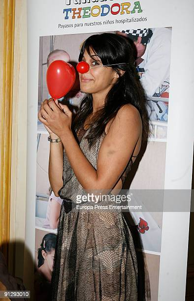Sara Casasnovas attends the Theodora Foundation Event at Palace Hotel on September 30 2009 in Madrid Spain