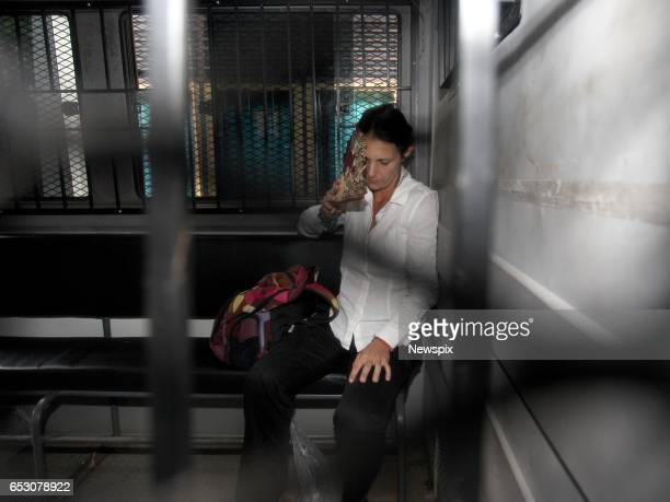 BALI INDONESIA Sara Connor leaves Denpasar District Court after sentencing in Bali Indonesia Sara was sentenced to 4 years for her role in the...