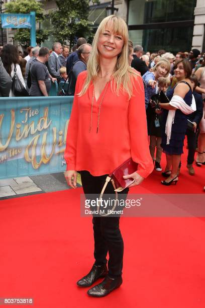 Sara Cox attends the press night performance of 'The Wind In The Willows' at the London Palladium on June 29 2017 in London England