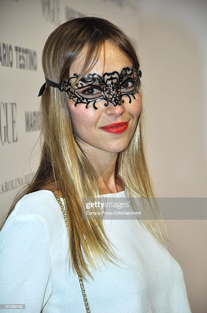 Sara Da attends Vogue Magazine December issue launch party at Fernan Nunez Palace on November 27, 2012 in Madrid, Spain.