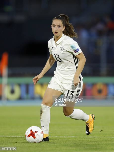 Sara Dabritz of Germany women during the UEFA WEURO 2017 Group B group stage match between Germany and Sweden at the Rat Verlegh stadium on July 17...