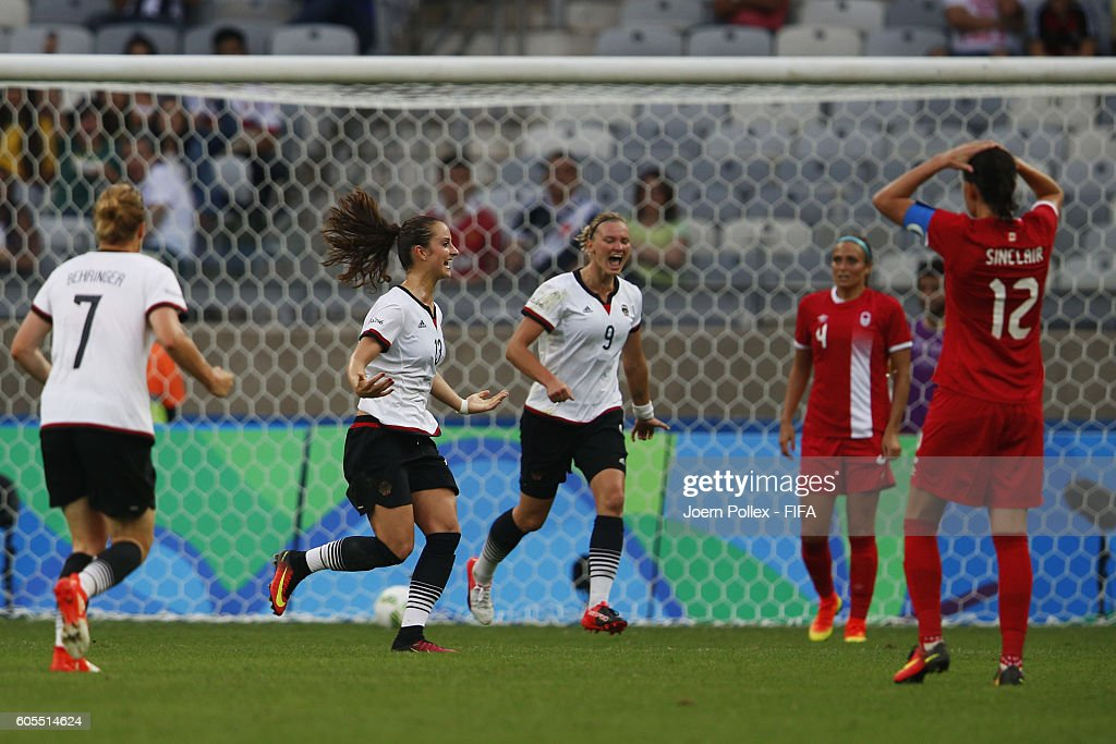 Germany vs Canada Semi Final: Women's Football - Olympics: Day 11