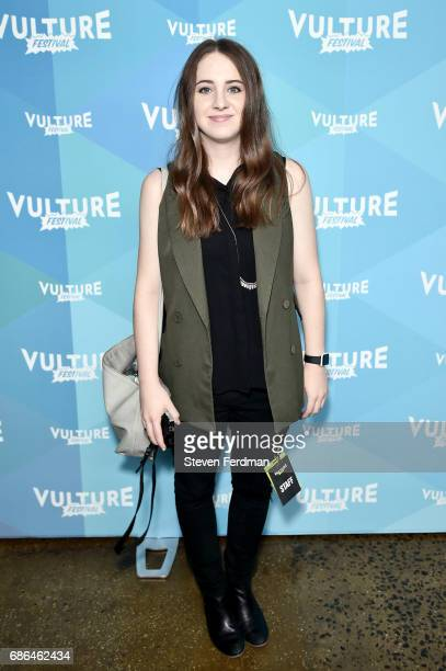 Sara Dietschy attends a screening of 'Black Mirror' during Vulture Festival at Milk Studios on May 21 2017 in New York City