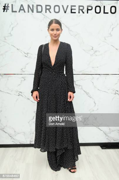 Sara Donaldson attends Land Rover Polo in the City at Centennial Park on November 18 2017 in Sydney Australia