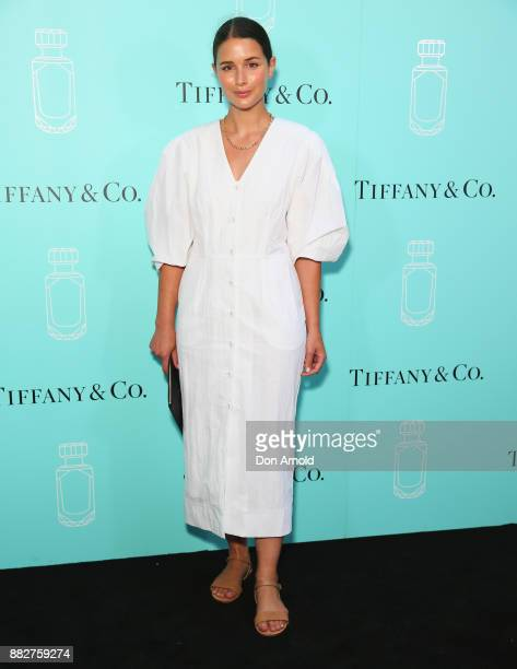 Sara Donaldson attends the Tiffany Co Tiffany Fragrance Launch on November 30 2017 in Sydney Australia