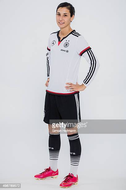 Sara Doorsoun poses during a Germany Women's Portrait Session on November 24 2015 in Essen Germany