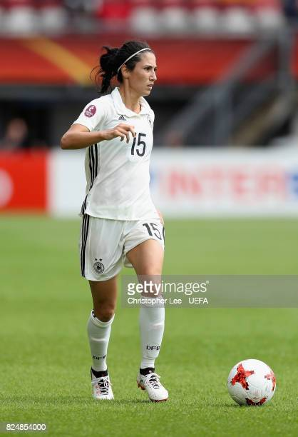 Sara DoorsounKhajeh of Germany in action during the UEFA Women's Euro 2017 Quarter Final match between Germany and Denmark at Sparta Stadion on July...