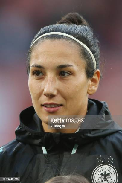 Sara DoorsounKhajeh of Germany women during the UEFA WEURO 2017 Group B group stage match between Russia and Germany at the Galgenwaard Stadium on...