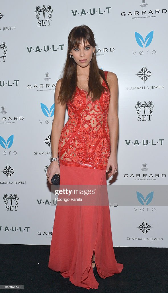 Sara Douglas attend the V.A.U.L.T. Art Basel Party on December 6, 2012 in Miami, Florida.
