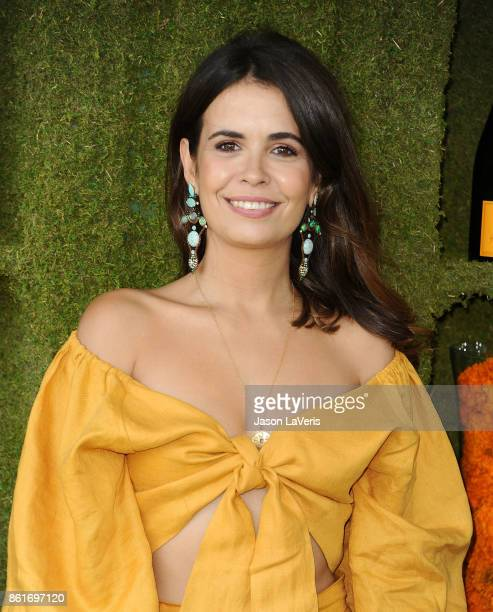 Sara Escudero attends the 8th annual Veuve Clicquot Polo Classic at Will Rogers State Historic Park on October 14 2017 in Pacific Palisades California