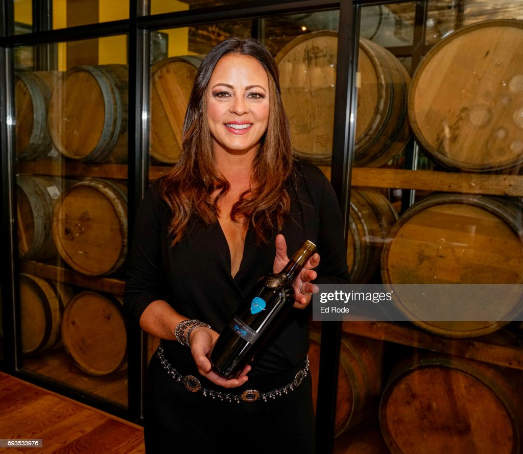 Sara Evans attends the CMA Fest album preview party at City Winery Nashville on June 7, 2017 in Nashville, Tennessee.