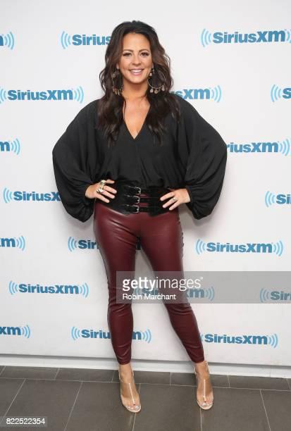 Sara Evans vists at SiriusXM Studios on July 25 2017 in New York City