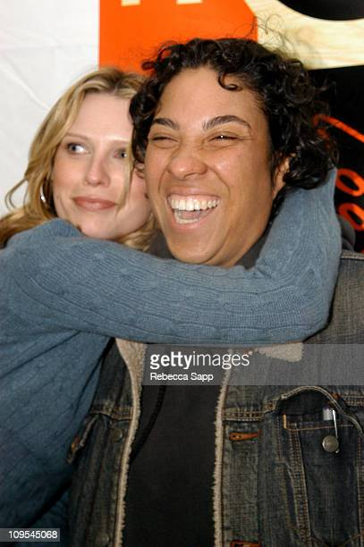 Sara Foster and Director Angela Robinson during 2004 Sundance Film Festival 'DEBS' Premiere at Eccles in Park City Utah United States
