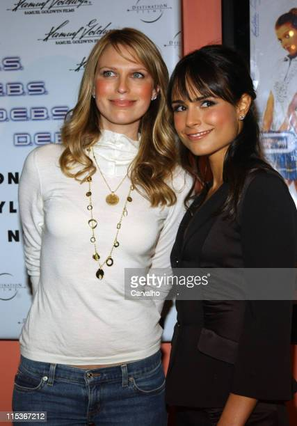Sara Foster and Jordana Brewster during 'DEBS' New York City Premiere at Chelsea's Clearview 9 in New York City New York United States