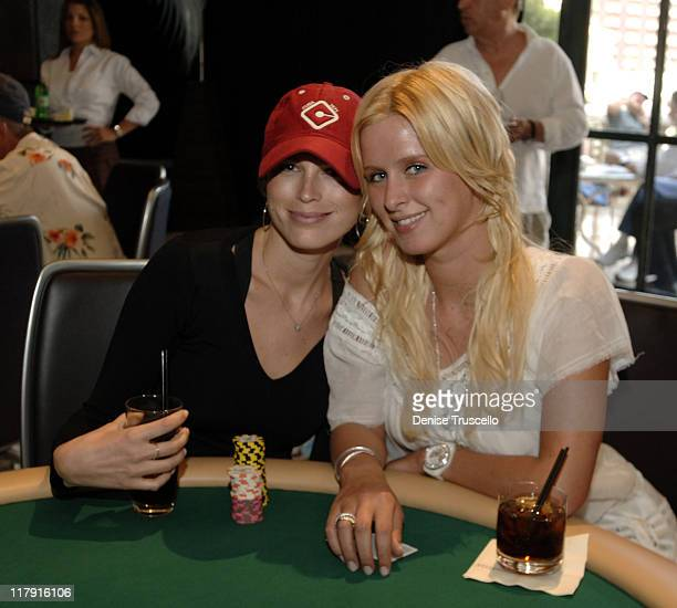 Sara Foster and Nicky Hilton during LIGHT Nightclub 4th Year Anniversary Celebration $25000000 Poker Tournement at The Bellagio Hotel and Casino...