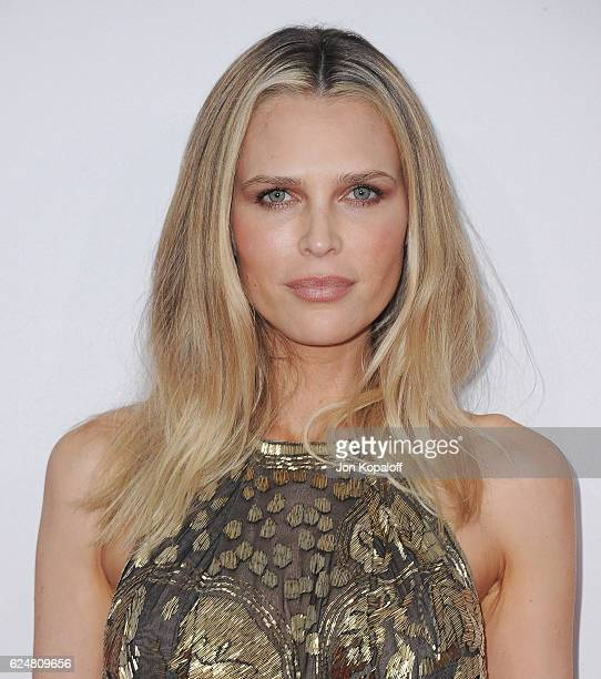 Sara Foster arrives at the 2016 American Music Awards at Microsoft Theater on November 20 2016 in Los Angeles California