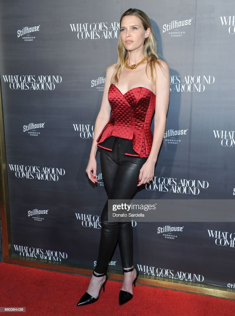 Sara Foster at What Goes Around Comes Around Beverly Hills Anniversary on October 11, 2017 in Beverly Hills, California.