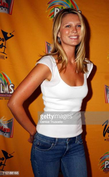 Sara Foster during CineVegas 2004 'DEBS' Premiere at The Palms Casino Resort in Las Vegas Nevada