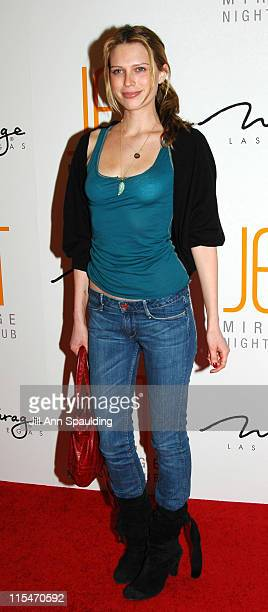 Sara Foster during Jet Nightclub at The Mirage Grand Opening Celebration Red Carpet at The Mirage in Las Vegas Nevada United States