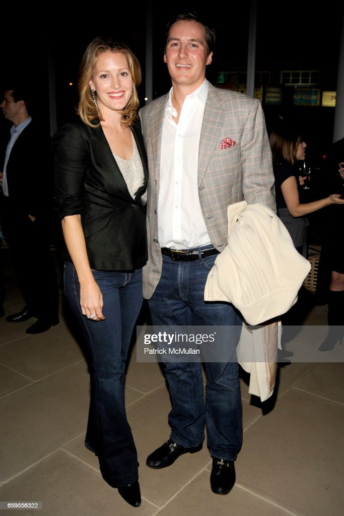 Sara Gilbane Sullivan and Jay Sullivan attend The Young Friends of The ASPCA presents 'It's Raining Cats and Dogs' Annual Fundraiser at The IAC Building on October 8, 2009 in New York.