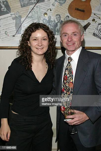 Sara Gilbert and Hall of Fame jockey Chris McCarron