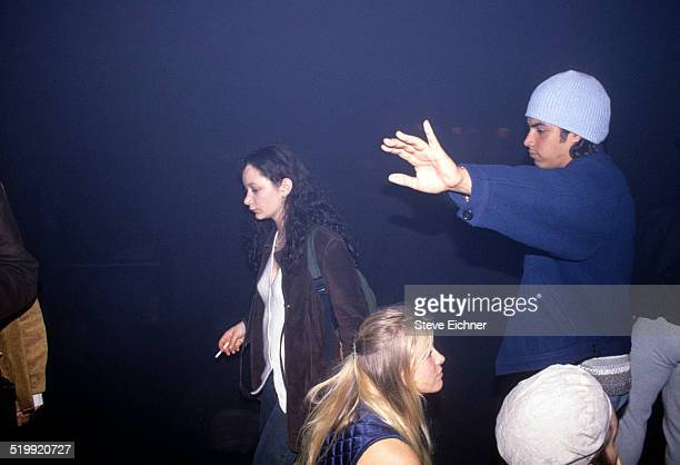 Sara Gilbert at Club USA New York New York April 1 1994
