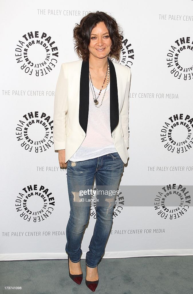 Sara Gilbert attends 'An Evening With Web Therapy: The Craze Continues...' held at The Paley Center for Media on July 16, 2013 in Beverly Hills, California.