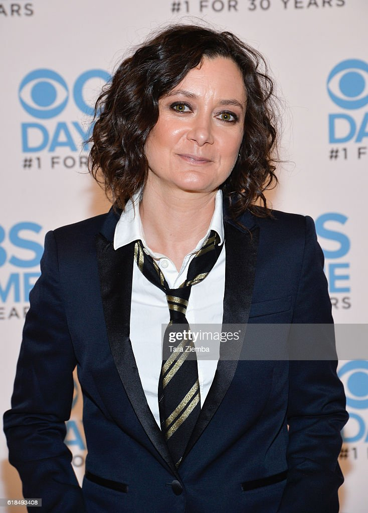 Sara Gilbert attends CBS Daytime Presents 'The Talk' panel at The Paley Center for Media on October 26, 2016 in Beverly Hills, California.