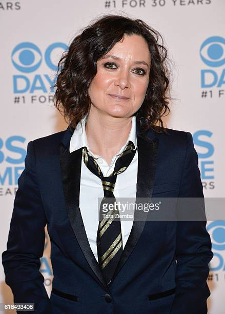 Sara Gilbert attends CBS Daytime Presents 'The Talk' panel at The Paley Center for Media on October 26 2016 in Beverly Hills California