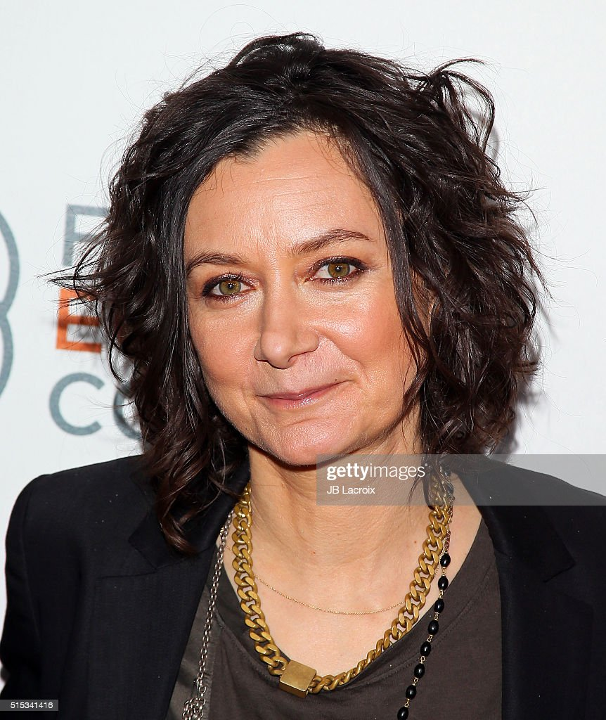 Sara Gilbert attends the Family Equality Council's Impact Awards at the Beverly Hilton Hotel on March 12, 2016 in Beverly Hills, California.