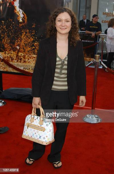 Sara Gilbert during 'Seabiscuit' Premiere at Mann Village Theatre in Westwood California United States