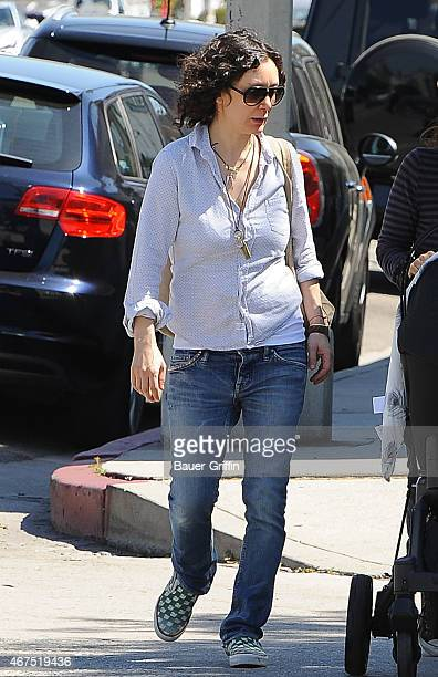 Sara Gilbert is seen on March 25 2015 in Los Angeles California
