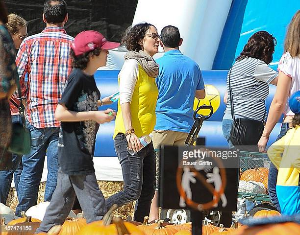 Sara Gilbert is seen on October 18 2014 in Los Angeles California